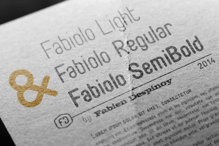 FABIOLO Free Font Download